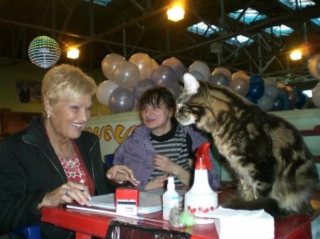 Юпитер BEST OF BEST на выставке в Петропавловске, 5-е и 6-е место в WCF-ринге, открыл титул Большого Международного Чемпиона!